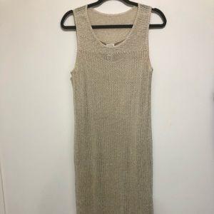 Zenergy (Chico's) crochet tank dress. Sz 1